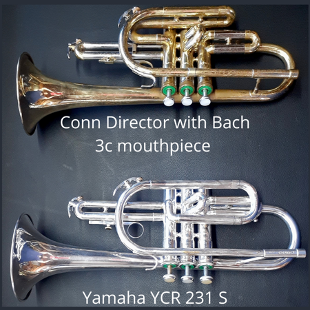 Picture of !!SOLD!! Cornet Yamaha YCR 231S