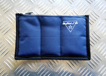 Picture of Triple Mouthpiece Pouches.